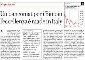 Bancomat per i Bitcoin_La Repubblica