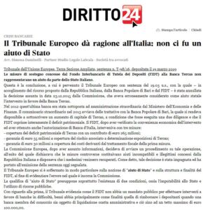 Diritto24_articolo Simona Daminelli