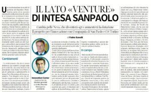 Il lato venture di Intesa_Economia