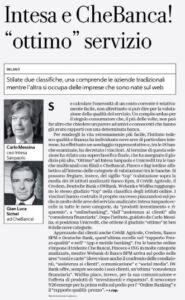 Intesa_Che Banca_ottimo servizio_Repubblica