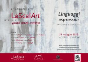 Locandina bando di concorso LaScalArt 2019