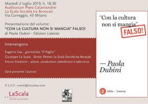 Locandina_presentazione_Paola Dubini_2 luglio