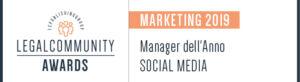 Manager dell'Anno SOCIAL MEDIA