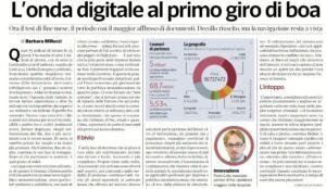 Onda digitale al primo giro di boa_Corriere Economia