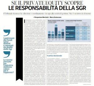Private equity_Corriere Economia