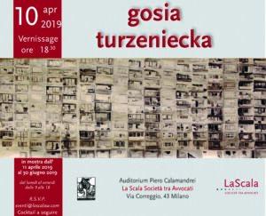 Locandina mostra Gosia Turzeniecka