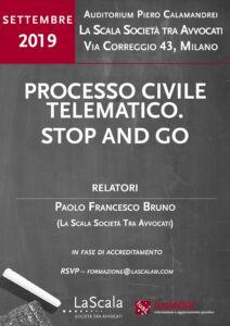 Processo civile telematico. Stop and go